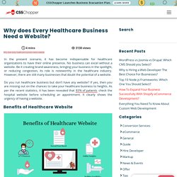 Why does Every Healthcare Business Need a Website? - CSSChopper