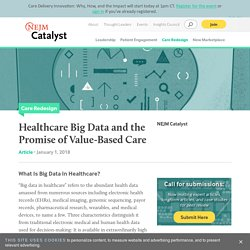 Big Data in Healthcare: Challenges & Promise