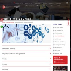 Top 10 Healthcare Management Colleges in Delhi