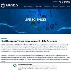 Healthcare & Medical software development - Life Sciences