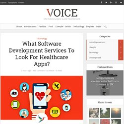 Why Health Apps Are Becoming Priority Of Healthcare Software Development Company?