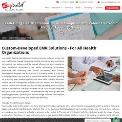 Healthcare Software Development - Zapbuild