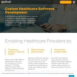 Custom Healthcare Software Development Company