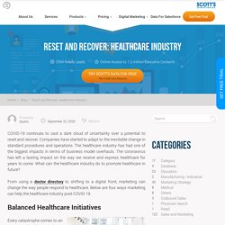 Reset and Recover: Healthcare Industry