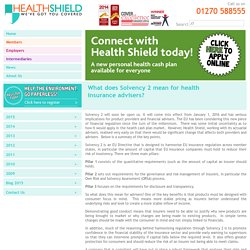 Healthcare Cash Plans from Health Shield Friendly Society Ltd.