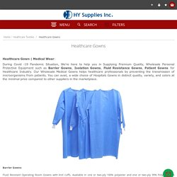 Hospital gowns wholesale
