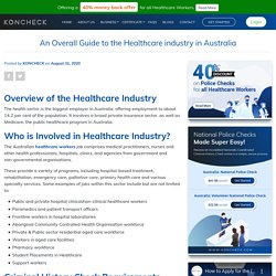 An Overall Guide to the Healthcare Industry in Australia