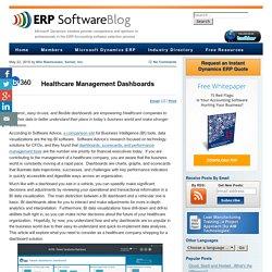 Healthcare Management Dashboards - ERP Software Blog