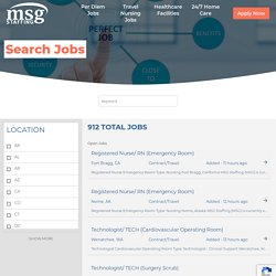 Healthcare & Medical Staffing Agency MA – MSG Staffing