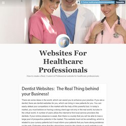 Websites For Healthcare Professionals