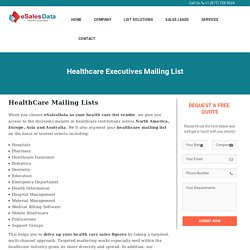 Healthcare Professionals Email List