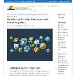 Healthcare Business Promotion and Marketing ideas