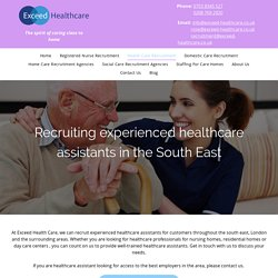 HEALTHCARE STAFFING AGNENCY LONDON