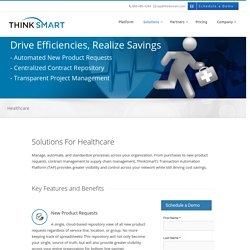 Healthcare New Product Requests - ThinkSmart
