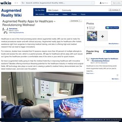 Augmented Reality Apps for Healthcare – Revolutionizing Wellness!