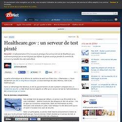 Healthcare.gov : un serveur de test piraté