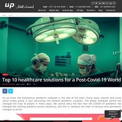 Top 10 healthcare solutions for a Post-Covid-19 World