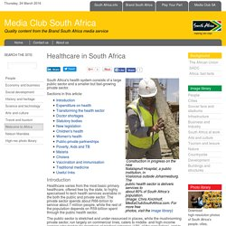 Healthcare in South Africa