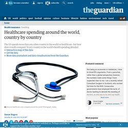 Healthcare spending around the world, country by country