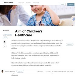 Aim of Children's Healthcare – StackStreet