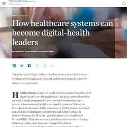 How healthcare systems can become digital-health leaders