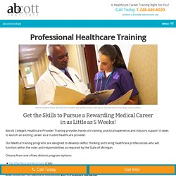 Finest Institute for Healthcare Career Training in Michigan