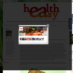 Healtheasy : Energy Bars and Powering Through