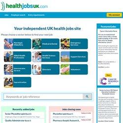HealthJobsUK