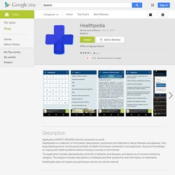 Healthpedia - Android Apps on Google Play