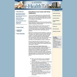 e-HealthTalk