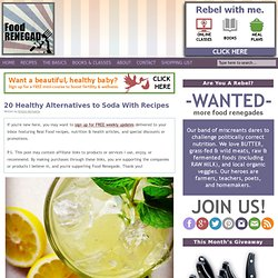 20 Healthy Alternatives to Soda