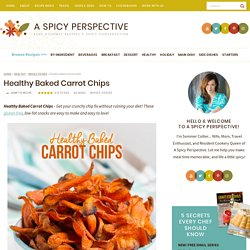 Healthy Baked Carrot Chips (Video)