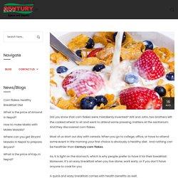 Corn flakes: Healthy Breakfast Diet - Century Foods