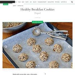 Healthy Breakfast Cookies [Vegan] - One Green Planet