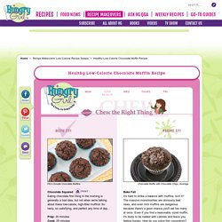 Healthy Low-Calorie Chocolate Muffin Recipe