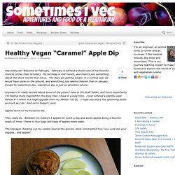 Healthy Caramel Apple Dip