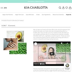 Kia-Charlotta / Vegan Beauty Products / Nail Polish / Nail Care