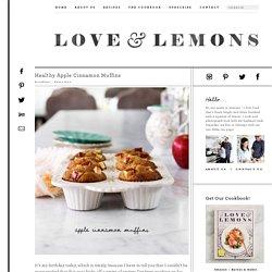 Healthy Apple Cinnamon Muffins Recipe