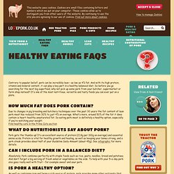 Healthy Eating, Recipes & Healthy Eating Facts | LovePork.co.uk