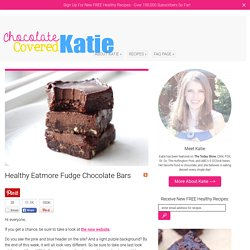 Healthy Eatmore Fudge Chocolate Bars