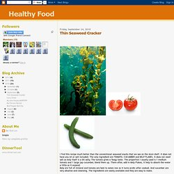 Thin Seaweed Cracker