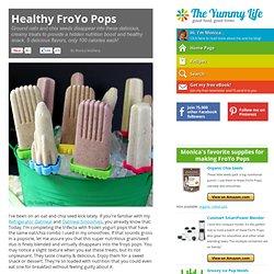 Healthy FroYo Pops
