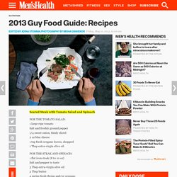 Healthy Gourmet Recipes for Men: Men's Health.com