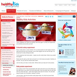 Healthy Kids : Healthy Kids Activities
