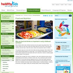 Healthy Kids : Food and Nutrition