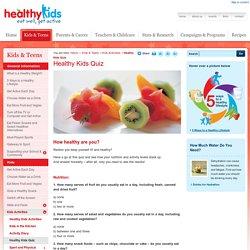 Healthy Kids Quiz