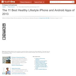 The 11 Best Healthy Lifestyle iPhone and Android Apps of 2013