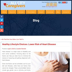 Healthy Lifestyle Choices: Lower Risk of Heart Disease