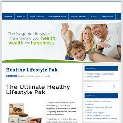 Healthy Lifestyle Pak -