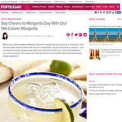 Healthy Margarita Recipe
